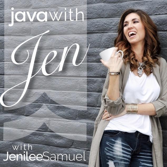 Java with Jen artwork modern